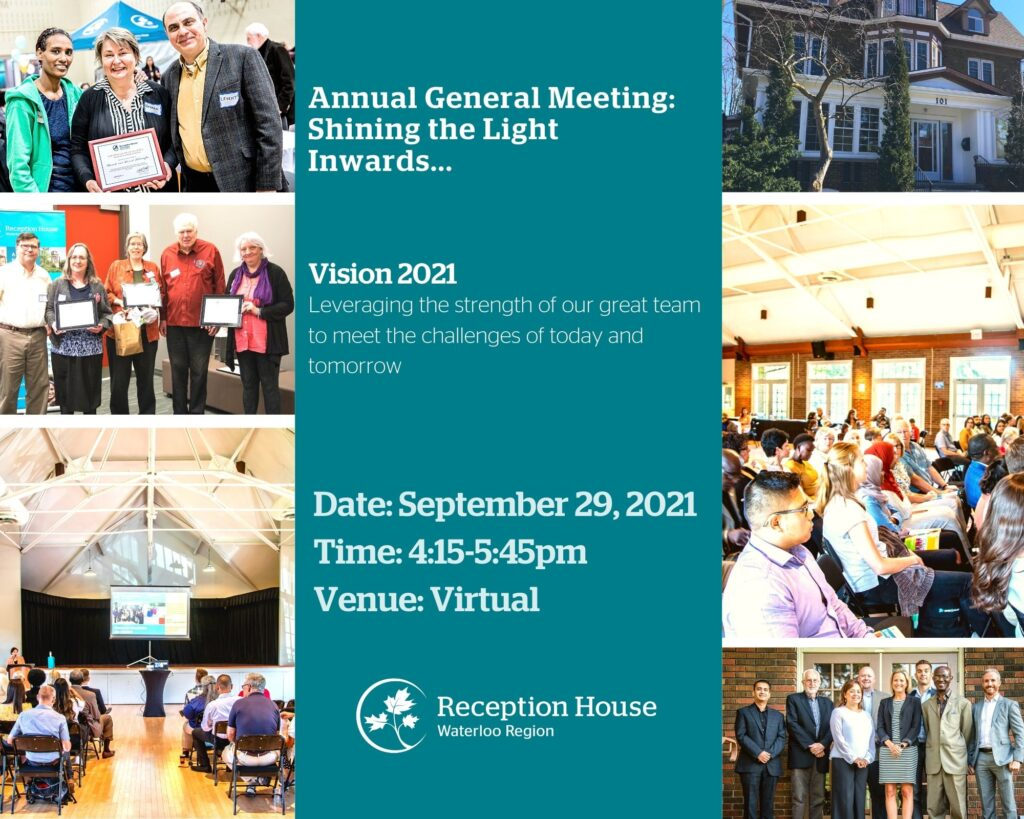 Annual general meeting Sept 29 from 4:15-5:45pm via Zoom