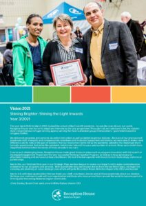 Community Impact Report 2021 cover page