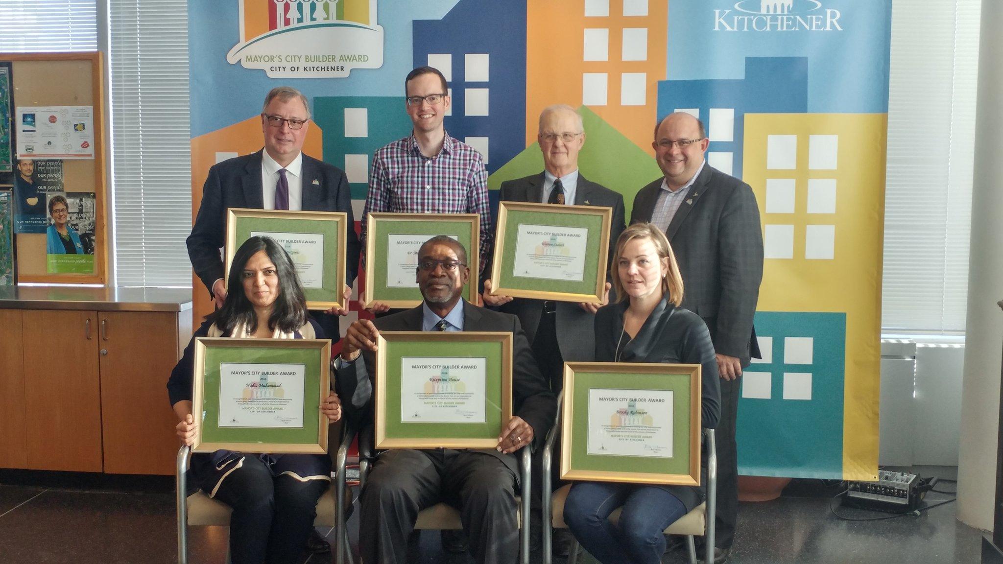 City builder recipients