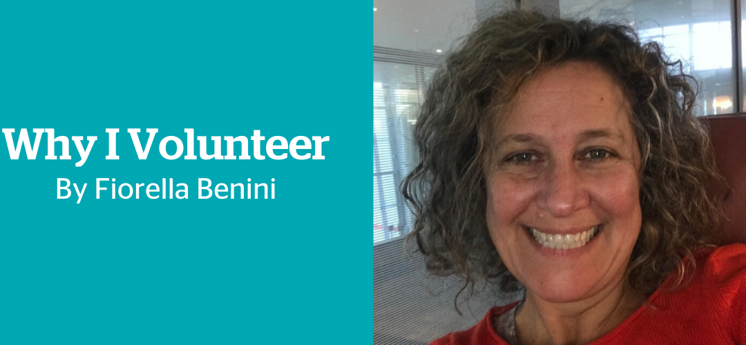 Why I volunteer: Fiorella Benini