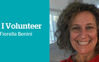 Why I volunteer: Fiorella Benini