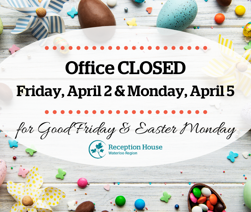 Office closed for Easter holiday