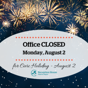 Office closed August 2