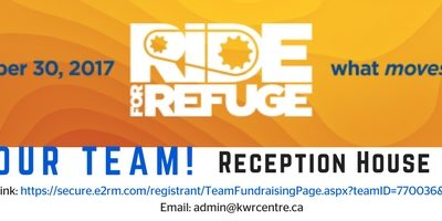 Ride for Refuge – Join our team or support the cause from home!
