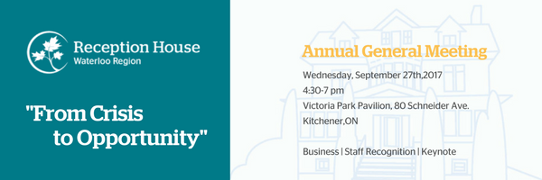 Annual General Meeting – Sept.27th 4:30pm – All are welcome!