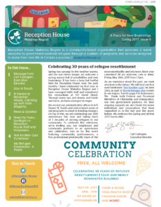 spring 2017 newsletter find out what s new reception house